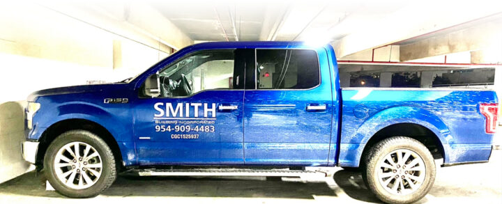 Smith Building - Truck